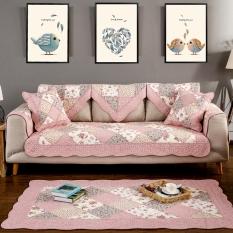 Cotton Leather Sofa Cushion Summer Fabric Four Seasons General Minimalist Modern Non Slip Wood Combination Cushion Sofa Towel Cover Promo Code