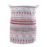 Low Cost Cotton Linen Laundry Basket 210883202 Intl