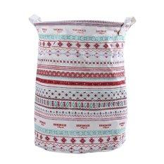 Best Rated Cotton Linen Laundry Basket 210883202 Intl