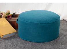 Cotton Linen Fabric Futon throw pillow Tatami Floor Bay Window Stool Thick Circle Washable Tea Ceremony throw pillow