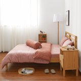 Price Cotton Pure™ Auburn Stripe Knitted Cotton Bundle Bed Set Cotton Pure™