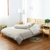 How Do I Get Cotton Pure™ Brownie Beige Stripe Knitted Cotton Quilt Cover