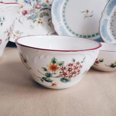 Where To Shop For Country Floral 6 Soup Bowl
