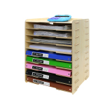 Craftsman A4 Minimalist Office Desktop Multi Layer Data Frame Storage Rack Craftsman Cheap On China