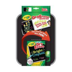 Buying Crayola Dry Erase Dual Sided Board