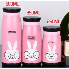 Creative Cartoon Cute Mug Cup Vacuum Cup Stainless Steel Thermos Cup Children S Gift Cup Large 500Ml Intl Shop