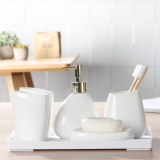 Discount Cups Cup Toothbrush Plug Soap Dish Ceramic Bathroom China