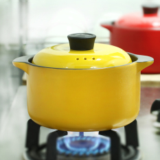 Buy Creative Ceramic Casserole Korean Health Pot Soup Pot Roast Stew Pot 2 5L Stew Pot Fire Resistant High Temperature China