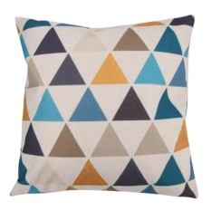 Creative Pattern Cotton Pillow Cushion Cover - Intl By Crystalawaking.