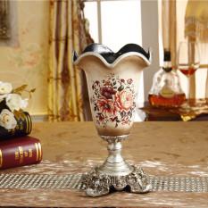 Sale Vintage Resin Home Living Flower Holder Vase Oem On China