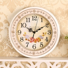 Compare Price Creative Wall Clock Living Room Mute Watch European Wall Clock Modern Decorative Walls Bell Clock Intl Oem On China