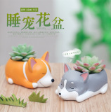 Review Teddy Corgi Dog Vip Pots Oem On China