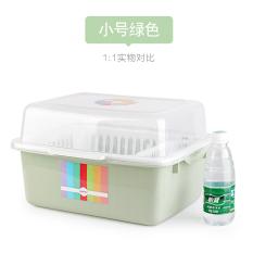 Sale Cupboard Plastic With Lid Box Tableware Drain Rack Kitchen Shelf Chopsticks Storage Box Put Dish Rack Dish On China