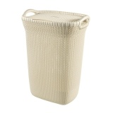 Price Curver Knit Laundry Hamper 57 L Curver New