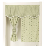 Fabric Bathroom Bedroom Kitchen Half Curtain Door Curtain Oem Cheap On China