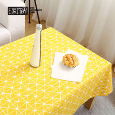 Discount Cute Cartoon Cotton Fabric Modern Coffee Table Cloth Tablecloth Household Tea Machine Ins Restaurant Rectangular Living Room Dormitory Oem China