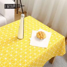 Review Cute Cartoon Cotton Fabric Modern Coffee Table Cloth Tablecloth Household Tea Machine Ins Restaurant Rectangular Living Room Dormitory Oem