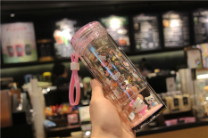 Review Cute Micro Landscape Thick Cup Double Layer Glass Cup China