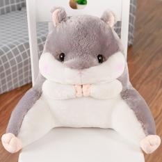 Cute pillow office lumbar support pillow Totoro hamster