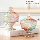 Compare Price Cute With Lid Wedding Containers Glass Candy Jar On China