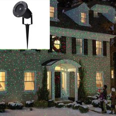 [Sale At Breakdown Price] Cyber Outdoor Waterproof Christmas Party Lights Projector Moving lights ( US Plug ) Singapore