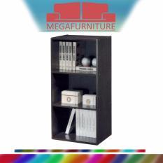 Retail Price Megafurniture Darold Walnut Open Bookshelf