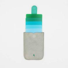 Dax men and women gradient ultra-thin multi-card bag card holder