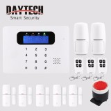 Daytech Wireless Home Gsm Alarm System Kit Lcd Screen Host Android Ios App Remotely Control Alarm Calling Message Intl Coupon