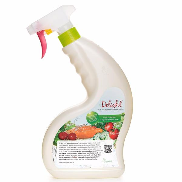 DD-101 Delight Fruits and Vegetables Cleaner 650ml