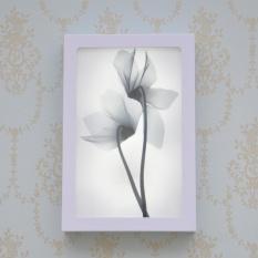 Decorative Paintings Wall Lamp LED Lamp Bedroom Bedside Lamp Modern Simple Rectangular Wall Light 12W White Light 20cm * 30cm * 4.5cm - intl