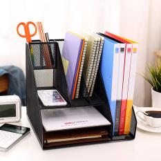 Deli File Rack 9832 Combination File Box Multi Function Metal File Holder File Basket Data Frame File Tray Deli Discount