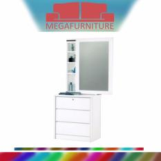 Price Megafurniture Demetrius White Dressing Table Ome Original