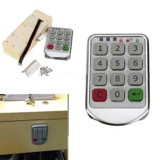 List Price Digital Drawer Intelligent Password Keypad Number Cabinet Door Code Locks Intl Oem