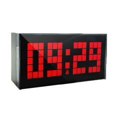 Digital Electronic Clock Led Alarm Clock 4 Digits Red Compare Prices