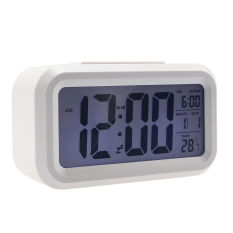 Digital Led Smart Alarm Clock White Best Price