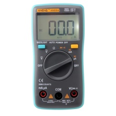 Review Digital Multimeter 2000 Counts Backlight Ac Dc Ammeter Voltmeter Ohm Meter Intl On China