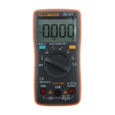 List Price Digital Multimeter 6000 Counts Backlight Ac Dc Ammeter Voltmeter Ohm Meter Orange Intl Vakind