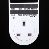 Cheapest Digital Programmable Timer Socket 7Day Plug In Switch Outlet 12 24 Hour Latest Intl Online