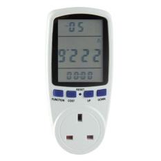 Sale Digital Volt Voltage Wattmeter Power Analyzer Electronic Power Energy Meter White Uk Intl On China