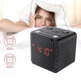 Digoo Dg Cr7 Led Usb Digital Fm Alarm Clock Radio Dual Alarm Snooze Sleep Time Black Intl Sale