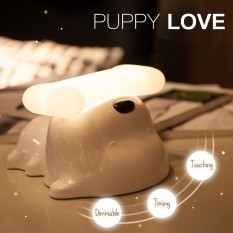 Dimmable Touching Sensor Rechargeable Puppy Child Bedroom Night Lamp - intl