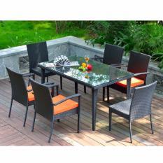 Dining Table Set S699 (1+4) Black
