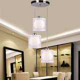 Price Dinning Room Ceiling Light Modern Simplicity Restaurant Chandelier Three Head Creative Crystal Bedroom Living Room Hanging Lighting With Remote Control A Heisenberg New