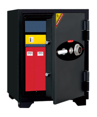 Diplomat Safe 070KC Combination Dial Fire Safe(Black)