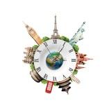 Diy 3D Wall Stickers Clock Wall Decal Clock 3D Art Wall Clock Intl Shop
