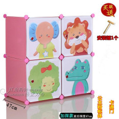 Diy Cartoon Baby Toy Cabinet Storage Cabinet Cheap