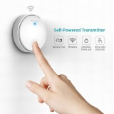 Purchase Dodocool Self Powered Battery Free Wireless Doorbell Kit With 1 Battery Free Transmitter Push Button And 1 Plug In Receiver Cd Quality Sound 38 Melodies 4 Volume Levels 262Ft Range White Us Plug Intl Online