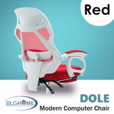 Discounted Dole Modern Computer Chair With Leg Rest Free Install Delivery