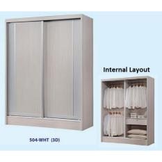 Buy Dominiq 504 Wht Wardrobe Free Delivery Free Assembly Cheap On Singapore