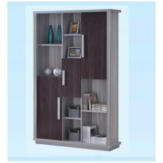 Dominiq 6116-LGWG Book Case (FREE DELIVERY) (FREE ASSEMBLY)